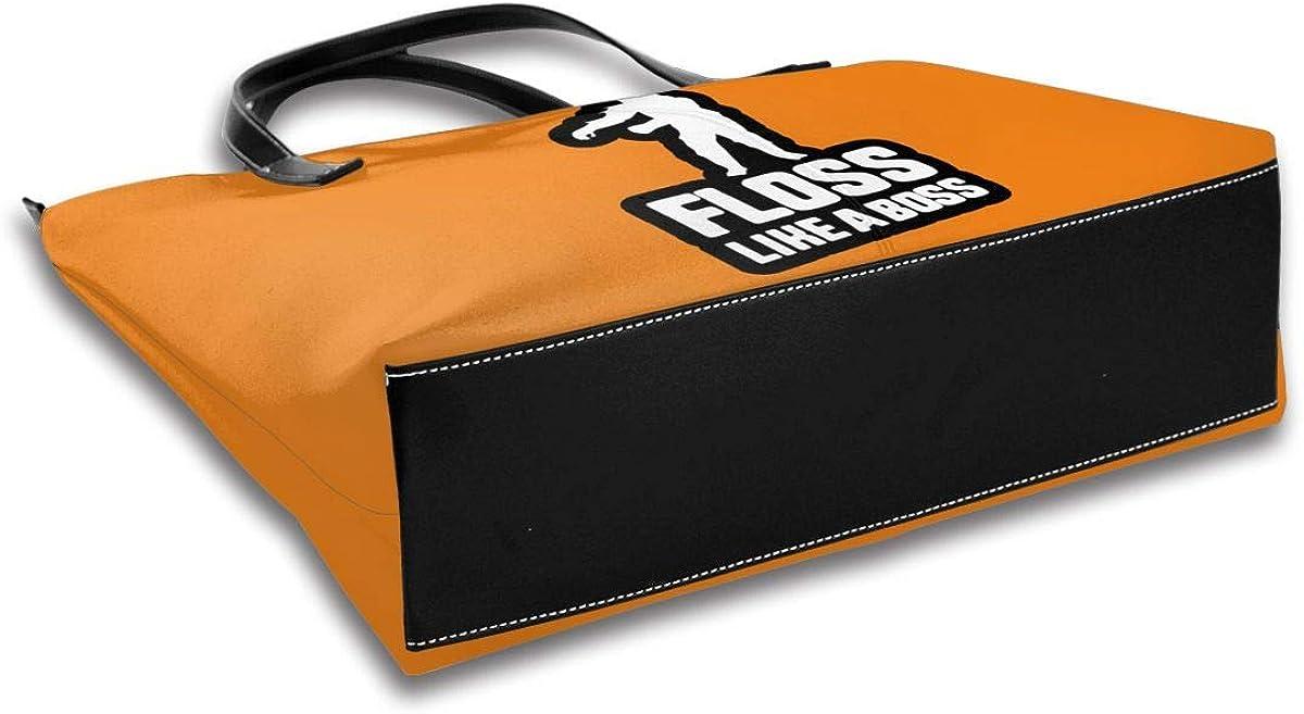 Bigfoot Floss Like A Boss Shoulder Portable Pu Leather Casual Handbag Tote Personalized Ladies Fashion Bag For Women