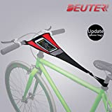 DEUTER Bicycle Trainer Sweat Net Frame Guard Absorbs Sweat Black Red