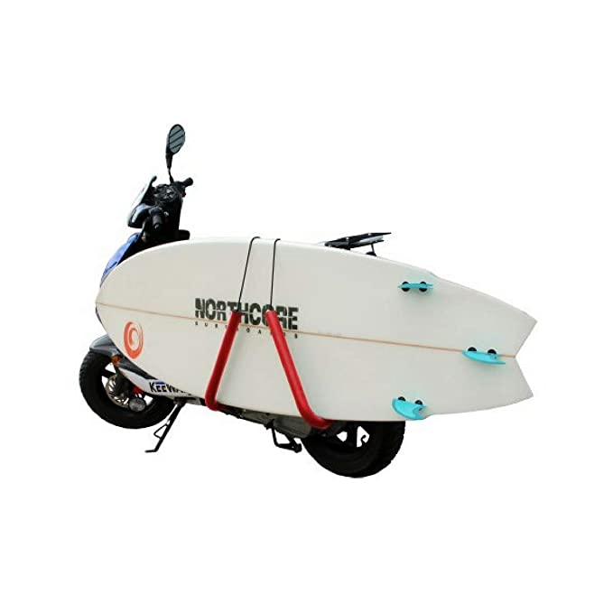 Amazon.com : Northcore Lowrider Moped Carry Rack Surf Rack One Size Black : Sports & Outdoors