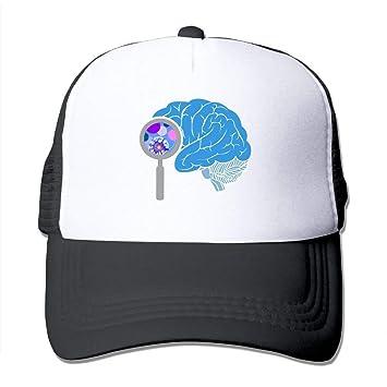 dfegyfr Cerebro de Dibujos Animados Ajustable Deportes Malla Gorras de béisbol Gorra de Camionero Sombreros de Sun Unisex10: Amazon.es: Deportes y aire ...
