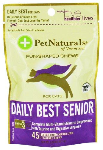 Pet Naturals of Vermont Daily Best Senior - 45 Chewables