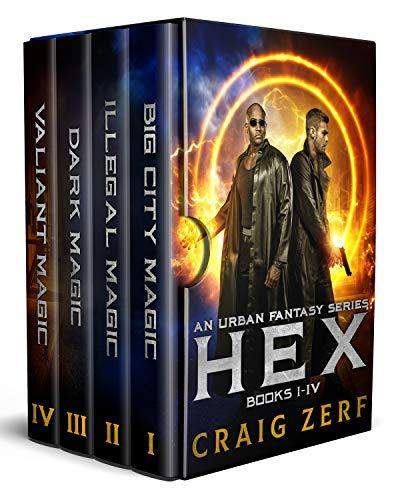 (HEX - the entire 4 book series. An Urban Fantasy Box set)