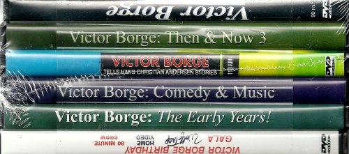 Victor Borge 6-DVD Set:  The Early Years / Then & Now / Then & Now 3 / Comedy & Music /  Birthday Gala / Tells Hans Christian Andersen Stories