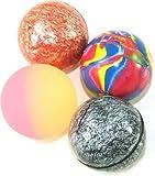 15 X Mixed Colour Jet Bouncy Balls