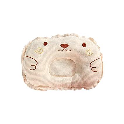 mi ji Almohada para bebé forma Almohada Bebé almohada para evitar almohadas planas para la cabeza Forma bebé recién nacida almohada protectora ...