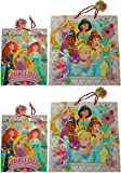 Disney Princesses ''Believe In Friendship'' Large & X-Large Gift Bags (2 Large & 2 X-Large)