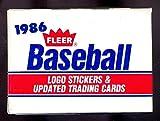 1986 Fleer Baseball Update Complete Box Set Updated Barry Bonds Rookie Card RC