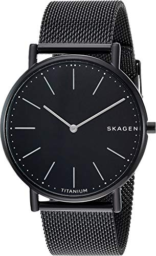 Skagen Men's Signatur Slim Titanium Case - SKW6484 Black One Size