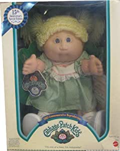 """16"""" CABBAGE PATCH KIDS 15TH ANNIVERSARY SPECIAL EDITION DOLL"""