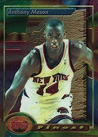 hot sale online 0f562 1b2fd Amazon.com: Basketball NBA 1993-94 Finest #47 Anthony Mason ...
