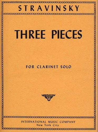 Three Pieces for Clarinet (Igor Stravinsky Three Pieces)