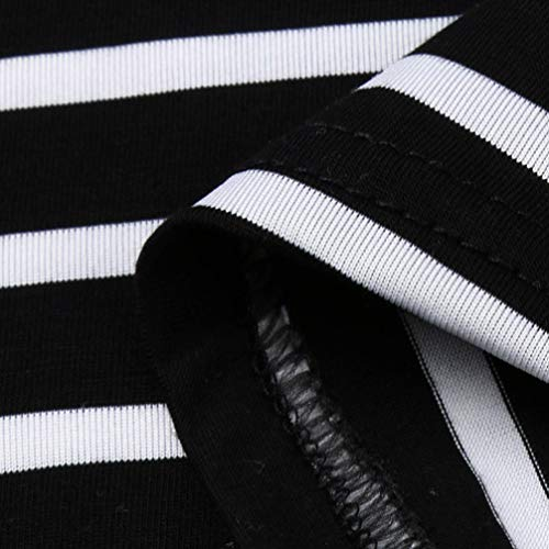 Batwing Femme Shirt Col Chemise en Imprimer T Longues Dames Noir Chic Chemisier Bringbring Tops Manches Ray V 4pBx74wq