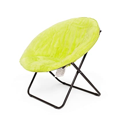 GJM Shop Leisure Siesta Chair Lounge Chair Moon Chair Recliners Backrest Folding Chair Lazy Chair Sofa