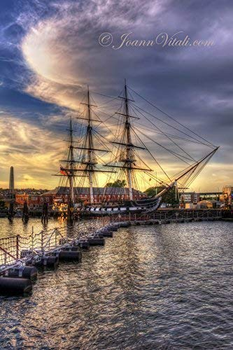USS Constitution Battleship - Boston Massachusetts - Military Battleship - Charlestown Massachusetts ()