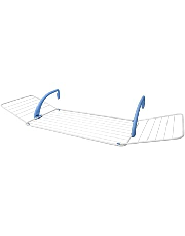 Gimi Brezza 200 Tendedero de Balcón de Acero y Resina, 18 m de Longitud de