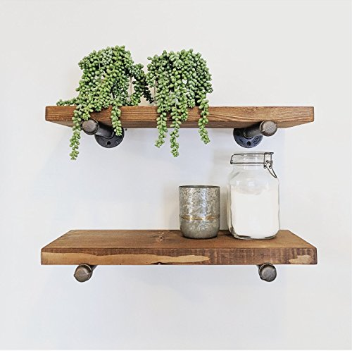 Industrial Floating Shelf (10
