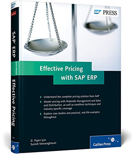 Effective Pricing with SAP ERP Hardcover – July 28, 2011