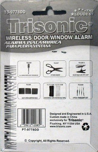 Amazon.com : Wireless Door window Alarm Trisonic NEW : Home Safety Products : Garden & Outdoor
