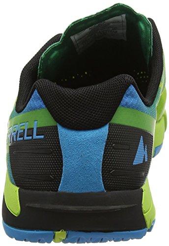 de Homme Merrell Acid Cyan Vert Fitness Bare Access Chaussures Flex ccyTZqI
