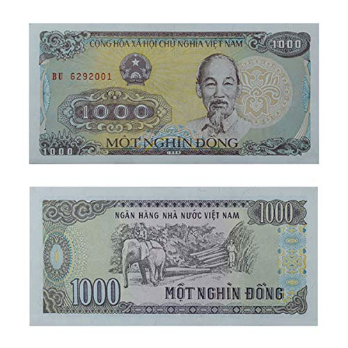Buy Mw Mintage World Vietnam Note 1000 Vietnamese Dong Online At Low Prices In India Amazon In