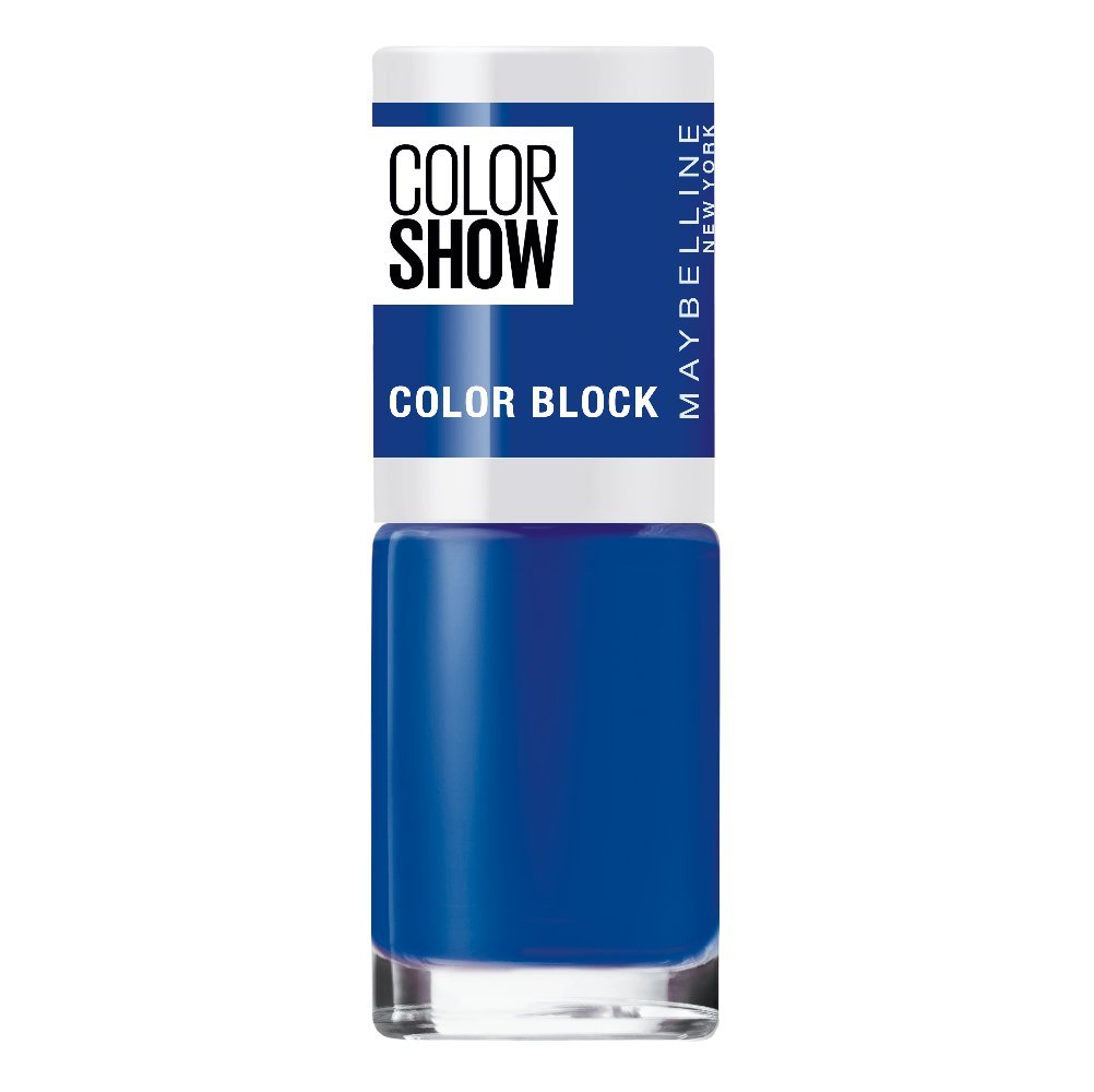 Maybelline New York Color Show Color Block Smalto per Nail Art, 489 Black Edge Maybelline (MAYH1) B2961500