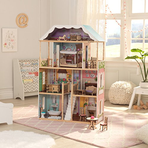 Buy wooden doll houses with furniture