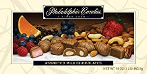 Philadelphia Candies Assorted Milk Chocolates, 1 lb. Gift Box