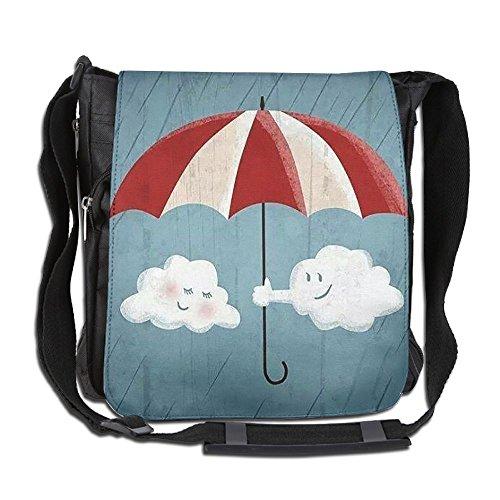 Cloud Cross Body - HUE FIUB Classic Cloud Date Messenger Bag Shoulder Bag Outdoor Sports Crossbody Bag Side Bag For Men Women