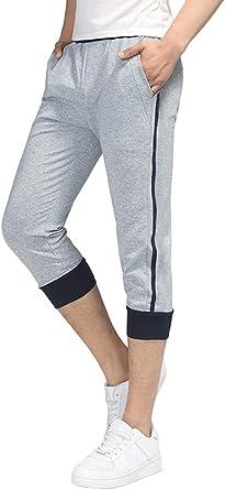 Tomwell Raya Pantalones Cortos para Hombre Gimnasio Sport Jogging ...