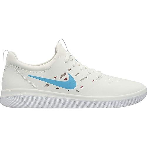 Nike Sb Para FreeZapatillas Whitelt Blue Hombresummit Nyjah PkO8n0w