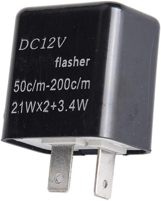 Direct Replacement for 2014 2015 2016 2017 2018 2019 2020 Honda Grom 125 Adjustable LED Bulb Turn Signals Flasher Relay for 2009-12 Kawasaki ZX6R, 2008-12 Kawasaki 250R, 2013-17 Kawasaki Ninja 300, 20