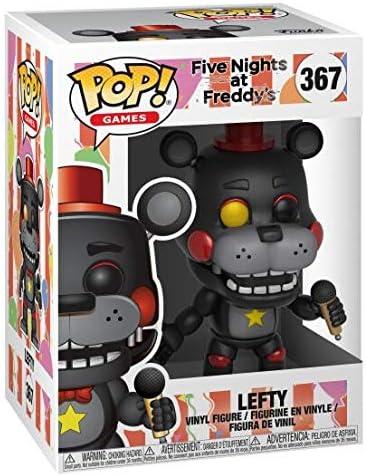 LEFTY DI FNAF FIVE NIGHT/'S AT FREDDY FUNKO POP 367 DA 10 CM NUOVO DA NEGOZIO!!!