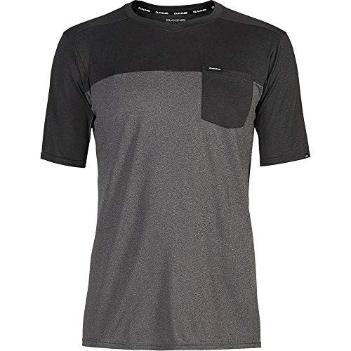 Dakine Vectra Short-Sleeve Jersey - Men's Castlerock/Black, XL