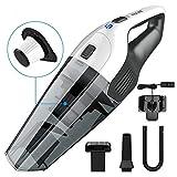 Handheld Vacuum, HOLIFE 4Kpa Cordless Hand Held Vacuum Cleaner 2200mAh Lithium Battery Portable