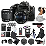 Canon EOS Rebel T6i Digital SLR Camera Bundle with EF-S 18-55mm Lens with Rode VideoMic Go Lightweight On-Camera Microphone