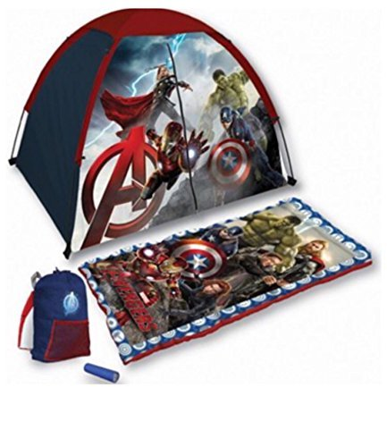 Marvel Avengers Age Of Ultron 4 Piece Kids Camp Kit