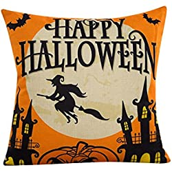 "Tenworld Halloween Sofa Bed Home Decor Pillow Case Cushion Cover 18""X18"" (D)"