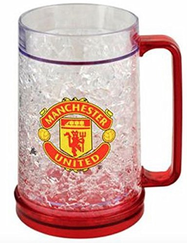 Authentic Manchester United FC Freezer Mug - Official Man Utd Product - Great for any United Fan - Men and Women Love This Mug