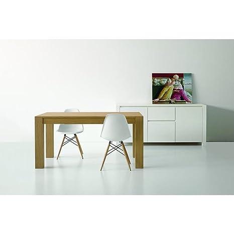 Tavolo Moderno Rovere.Tavolo Moderno Per Sala Da Pranzo In Rovere Naturale