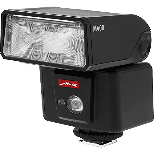 Metz M400 Series Mecablitz Compact Flash for Sony Multi Interface, Black (MZ M400S) by Metz