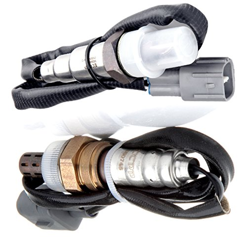 ECCPP Oxygen Sensor SG368 234-2003 1 Upstream and 1 Downstream for 1995-1997 Geo Prizm Toyota Corolla ()