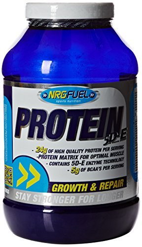 - NRG Fuel 908 g Chocolate Protein 5D-E Supplement by NRGFUEL