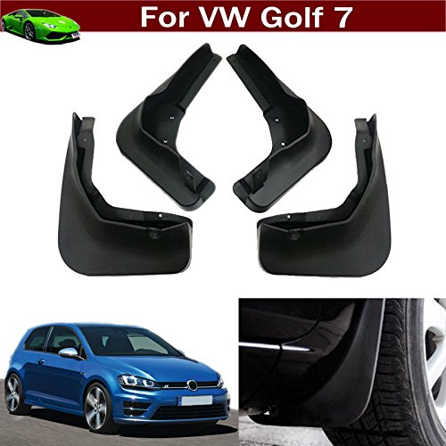 New 4pcs Mud Flap Splash Guard Fender Mudguard Mudflap For VW Golf MK7 2013 2014 2015 2016 2017 (not fit for Golf R modal) - Mud Flaps Golf