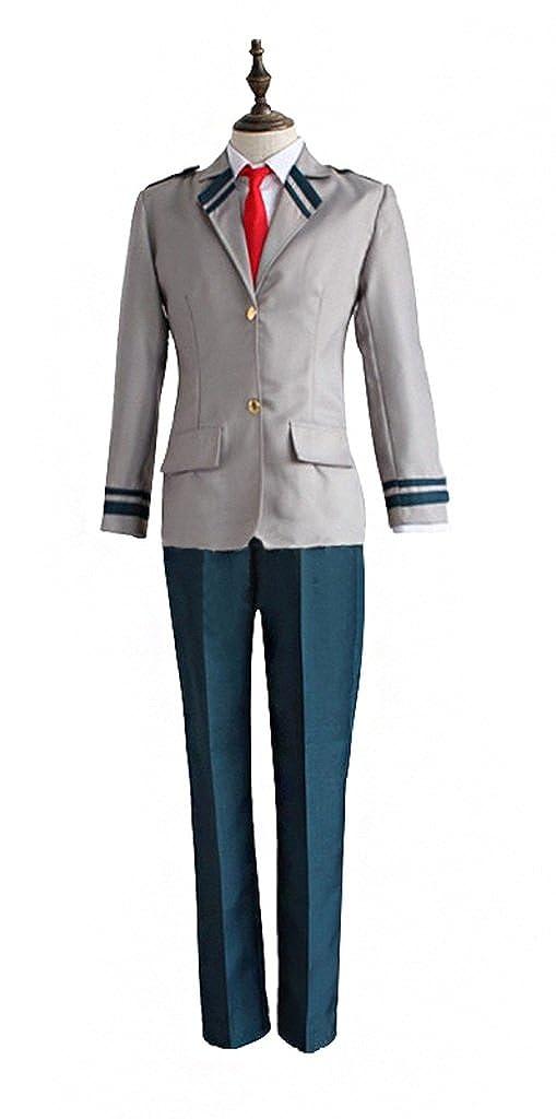 Amazon.com: Mtxc Mens My Hero Academia Cosplay Izuku Midoriya U.A.High School Male School Unifrom: Clothing