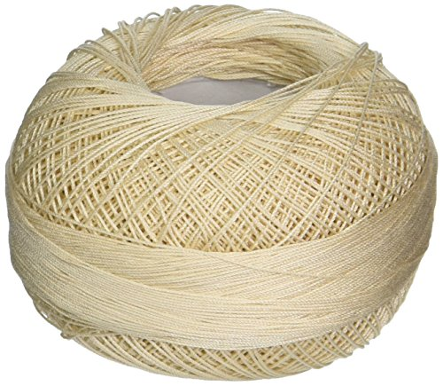 Handy Hands Lizbeth Premium Cotton Thread, Size 40, Ecru