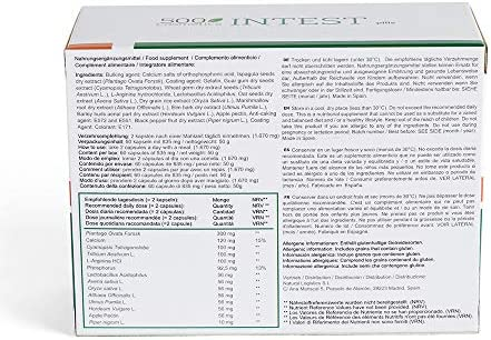 Packs 500Cosmetics Intest: Pastillas y Crema para prevenir y aliviar hemorroides (3)