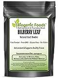 Bilberry Leaf - Natural Leaf Powder (Vaccinium myrtillus -European), 5 kg
