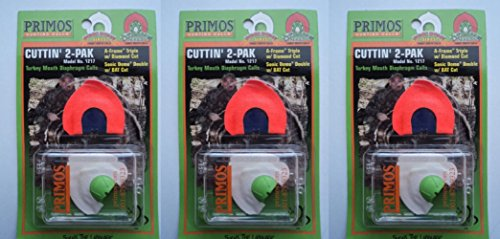 Primos Cuttin' 2-Pak Turkey Mouth Calls 1217SOLD IN LOT OF 3