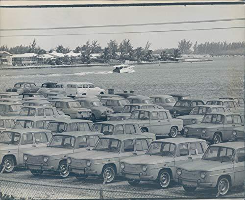 Vintage Photos 1963 Press Photo Transportation Port Everglades Morgan Profile Skimming 8x10