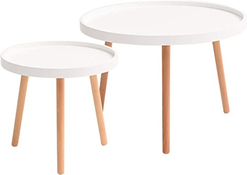 IBUYKE Coffee Table Set of 2